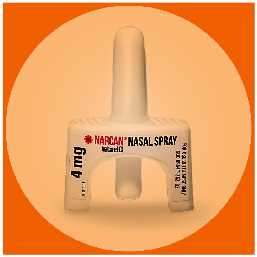Narcan bottle